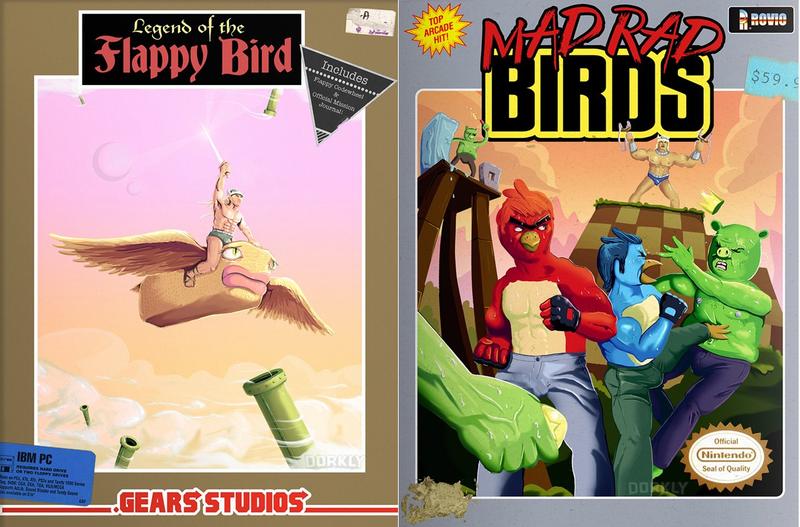 Illustration for article titled Vintage-Style Box Art For Modern Mobile Games