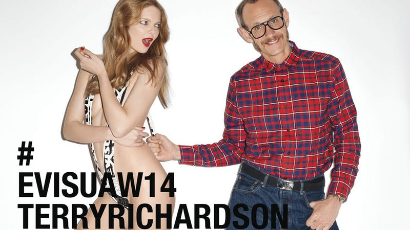 Illustration for article titled Notorious Photographer Terry Richardson Now Working for Evisu Jeans