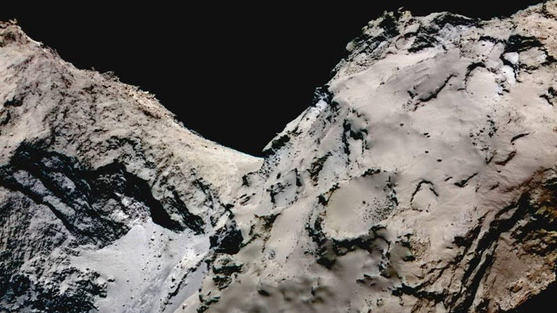 El cometa 67P/Churyumov-Gerasimenko. Imagen: ESA