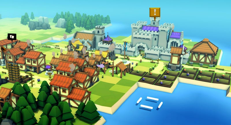 Illustration for article titled Kingdoms and CastlesIs A Very Fun City-Building Game