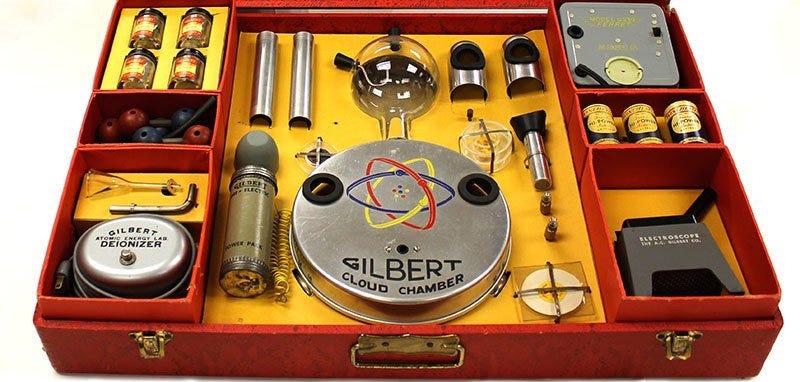 """El """"Laboratorio de Energía Atómica U-238"""" de Gilbert. ORAU"""