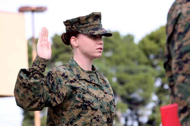 Illustration for article titled Female Marines Face Questions of Strength, Combat Readiness