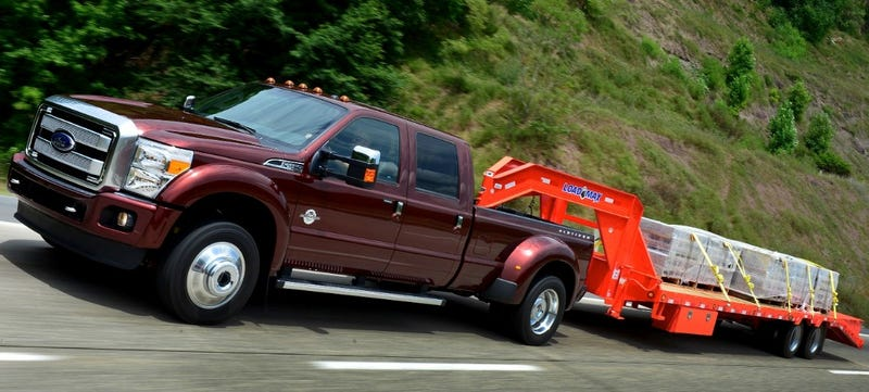 F350 Towing Capacity >> 2015 Ford F-450 Meets SAE Tow Standard, Ram Refuses To Rescind Top Title
