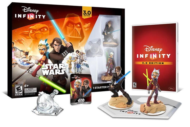 Illustration for article titled All The Disney Infinity 3.0 You Can Buy Come August 30