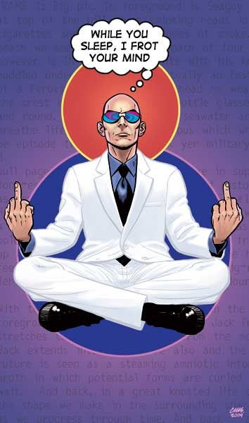 Illustration for article titled Why Can't Grant Morrison Stay In Continuity?