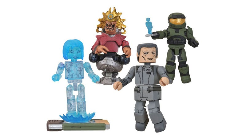 Illustration for article titled Halo Anniversary Minimates Put Cortana in Your Pocket