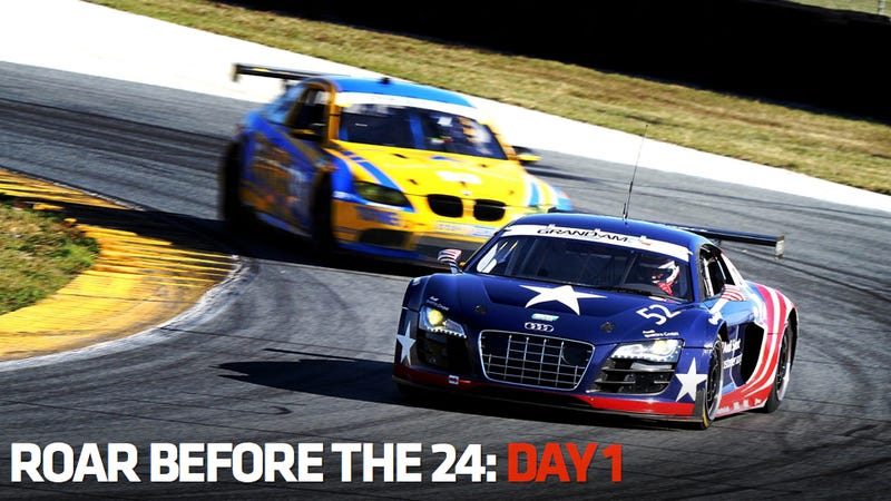 Illustration for article titled Daytona 'Roar Before The 24' Testing: Day One