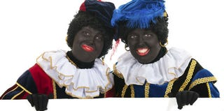 """Black Petes,"" a holiday tradition in the Netherlands (Thinkstock)"