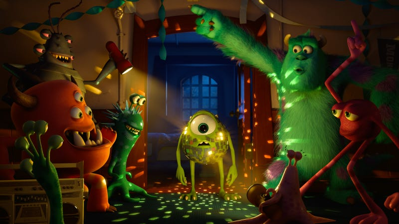 Illustration for article titled It Takes a Small Artistic Army to Bring a Pixar Film To Life