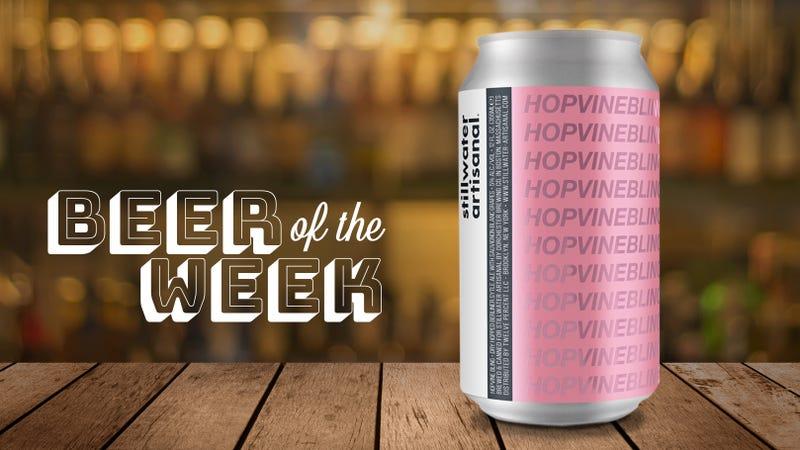 Illustration for article titled Beer Of The Week: Stillwater Artisanal's Hopvine Bling is a tart Berliner weisse for white wine lovers