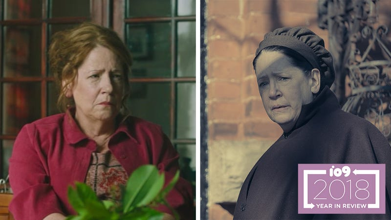 Ann Dowd was terrifying (under very different circumstances) in Hereditary and The Handmaid's Tale.