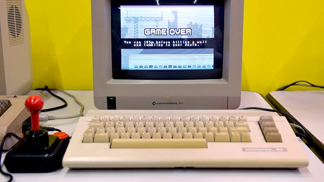 New Report Finds Computers Actually Outpaced Human Intelligence Back With Commodore 64