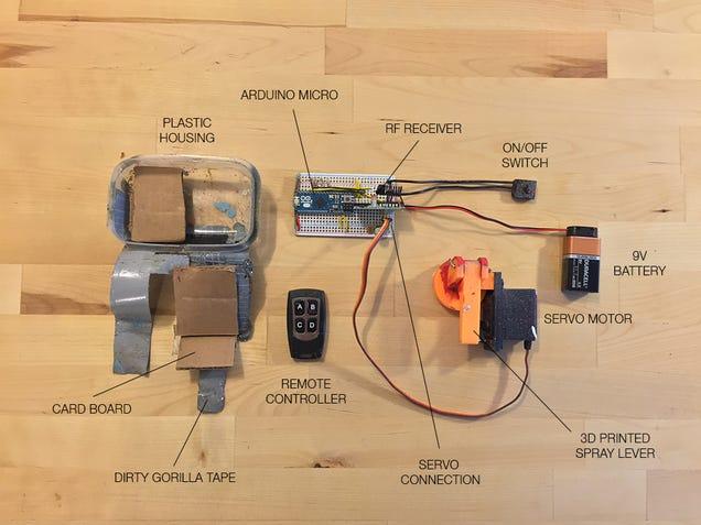 usos para un dron