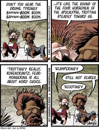 Illustration for article titled Candorville Comic: Fear Mongering