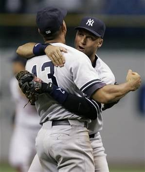 Illustration for article titled Hug It Out, Yankees; You're In The Playoffs