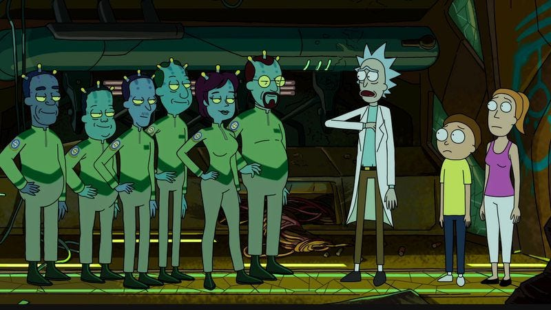 "Rick And Morty: ""Auto Erotic Assimilation"""