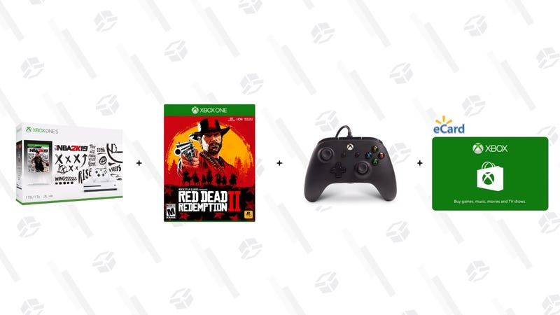 Choice of Microsoft Xbox One S 1TB with BONUS Game and BONUS Controller and Currency Card | $259 | Walmart