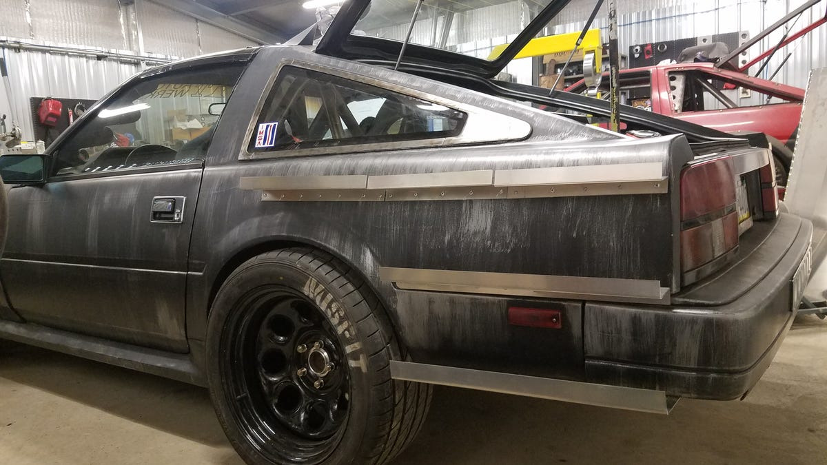 This Apocalypse Ready Nissan 300zx Does Battle With An Unusual