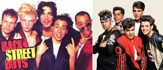 Illustration for article titled Teen Dream: Backstreet Boys & New Kids On The Block Touring Together