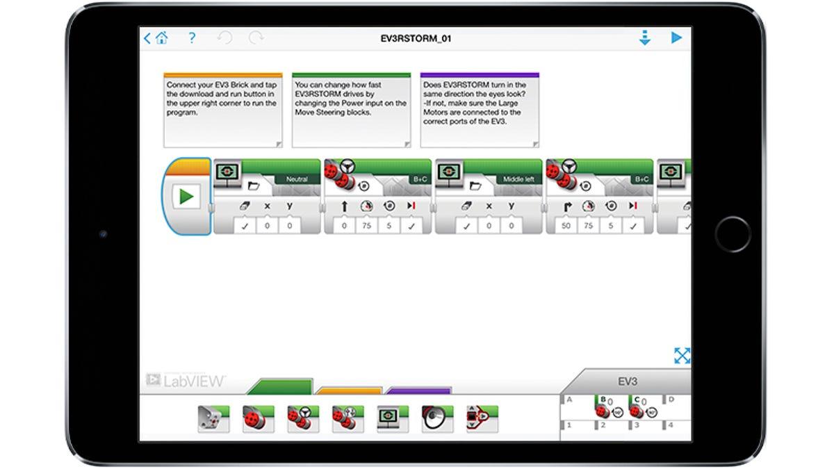The Lego Mindstorms EV3 App Lets You Program Your Robotic