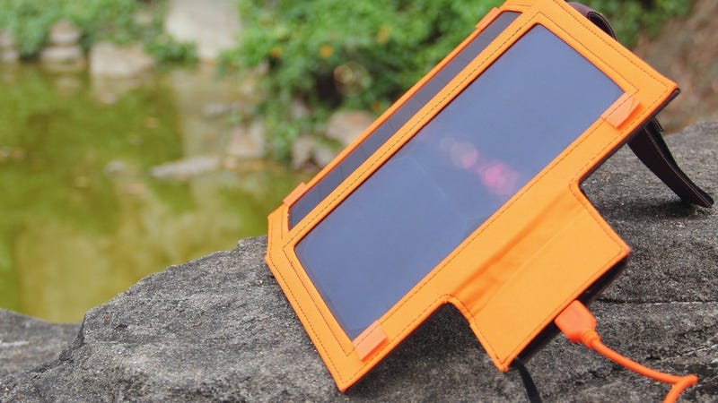 iClever 8000mAh Battery/12W Solar Panel, $49 with code ICSOLAR7