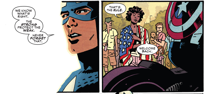 Illustration for article titled Captain America #695 is Required Reading