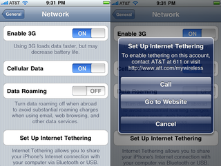 Illustration for article titled Newest iPhone 4.0 Beta Implies That AT&T Is Finally Ready For Tethering