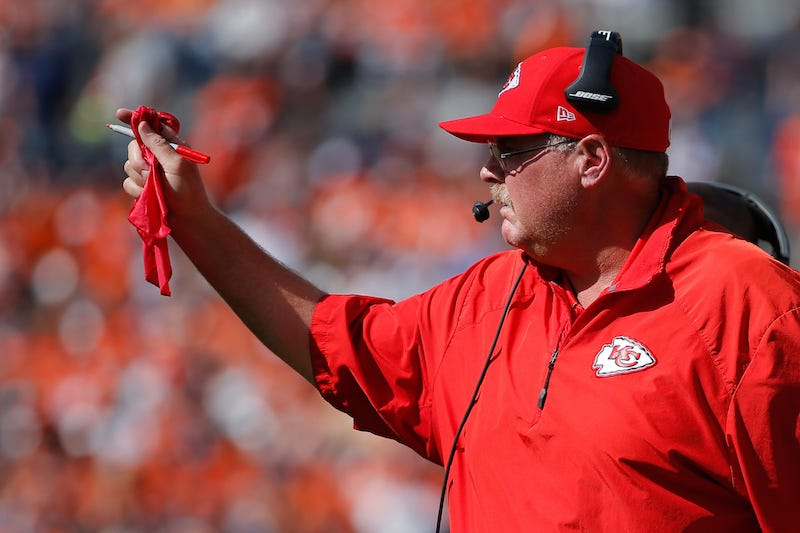 Illustration for article titled Andy Reid Has His Challenge Flag Taken Away
