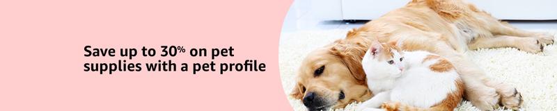 30% de descuento en productos para mascotas   AmazonImagen: Amazon