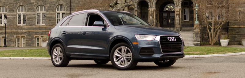 Illustration for article titled 2016 Audi Q3: Is It Faster Than a Bike and a Bus?