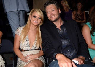 Illustration for article titled Miranda Lambert and Blake Shelton Are Totally Okay With Each Other