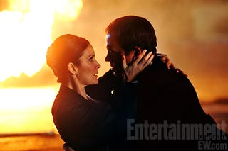 Illustration for article titled Chuck — Carrie Anne-Moss Entertainment Weekly Pictures