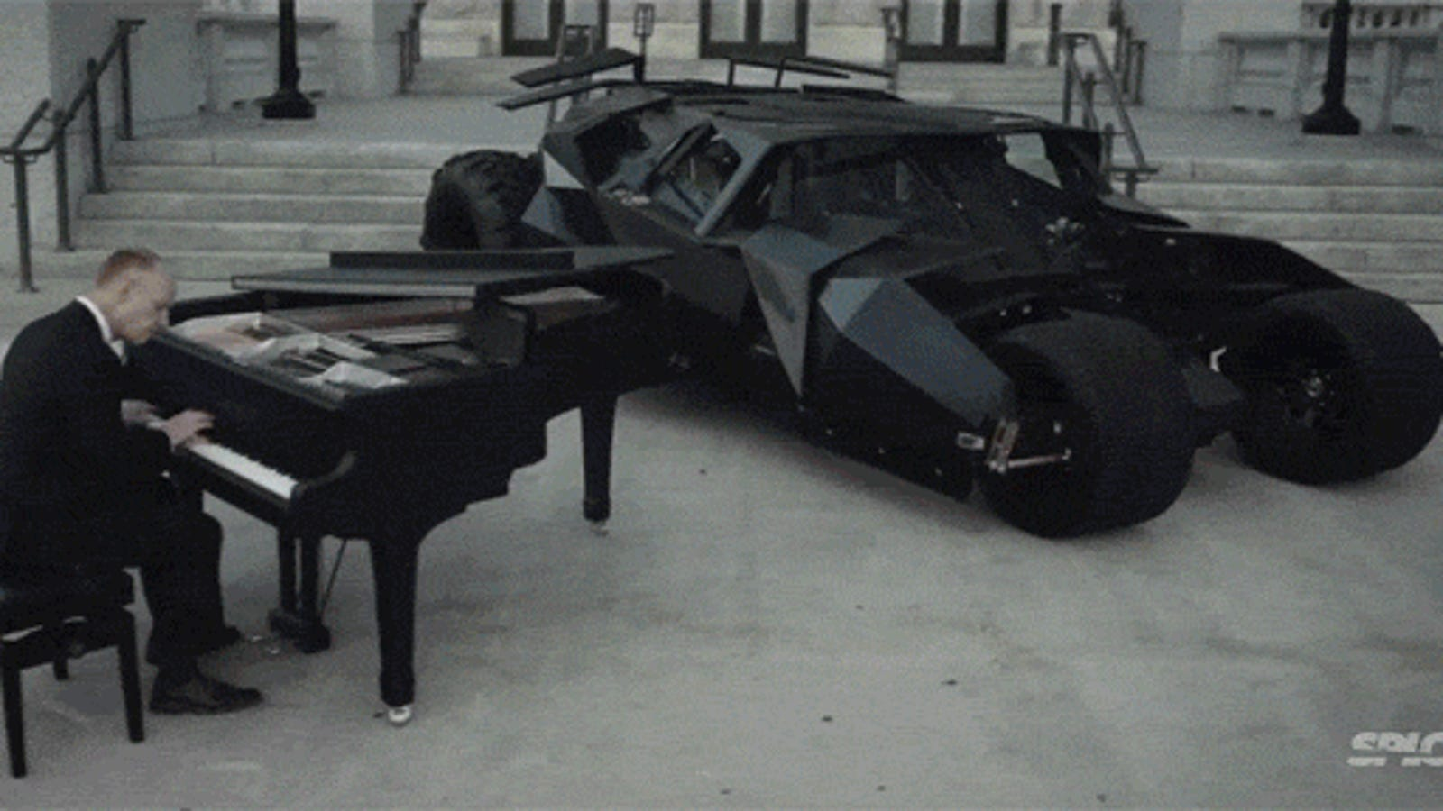 The evolution of Batman music epically recreated with a piano and cello