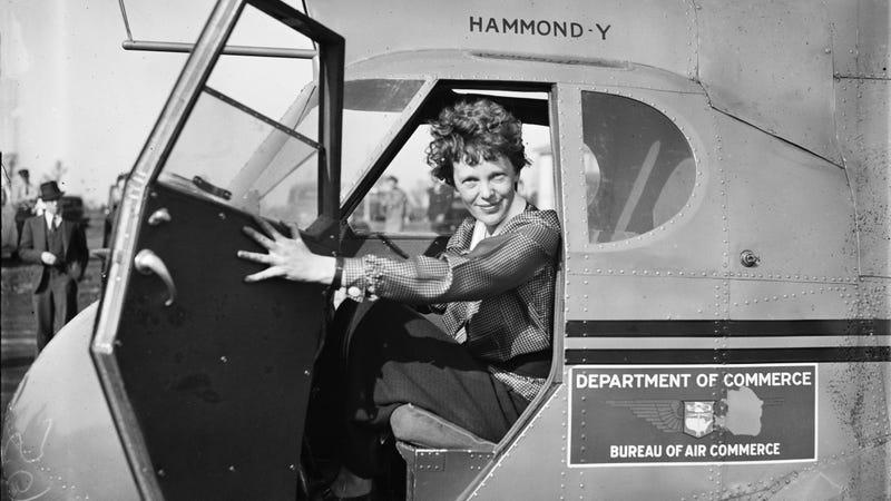 Amelia Earhart in 1936.