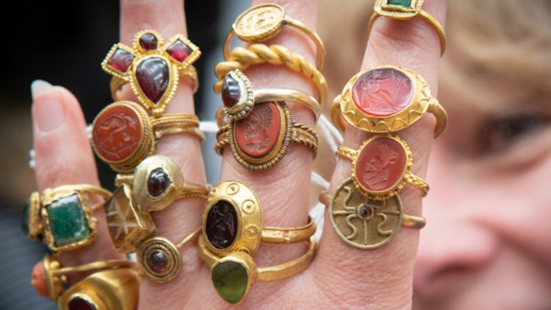 Illustration for article titled Wow, Look at All These Beautiful Ancient Rings That Should Belong to Me