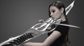 Illustration for article titled Parece el arma de un videojuego, pero es un violín real impreso en 3D