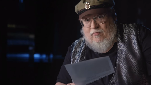 george r r martin re reads his first published work a fan letter to marvel comics