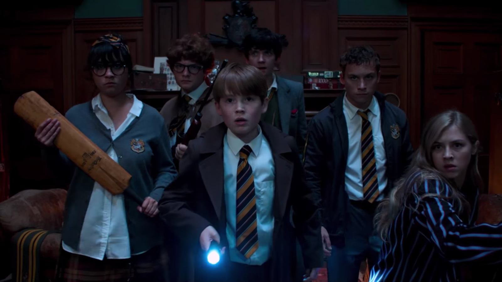 The First Trailer for Simon Pegg's Slaughterhouse Rulez Promises a Bloody Proper Fight