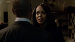 Kerry Washington as Olivia Pope in a scene from ScandalABC