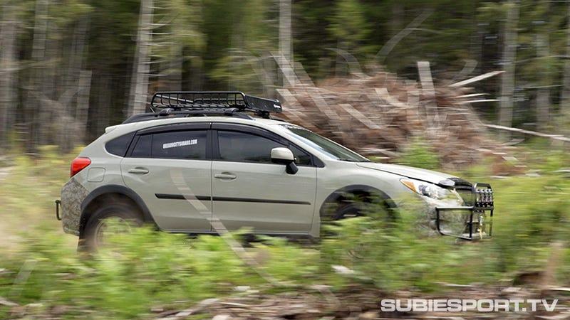 Illustration for article titled Subaru Crosstrek: Primitive Racing Edition
