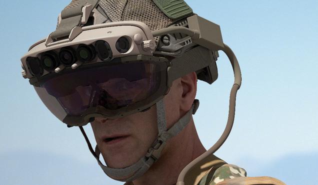 Microsoft Lands $22 Billion to Put Custom HoloLens Headsets on U.S. Soldiers