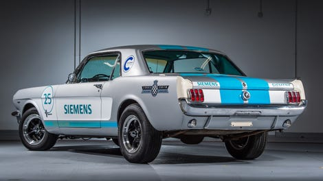 That Self-Driving 1965 Ford Mustang Self-Drove Into A Wall