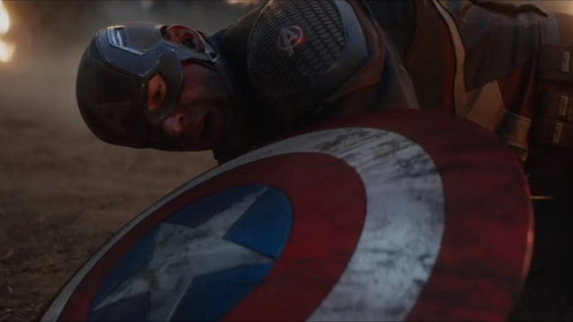This Avengers: Endgame Star Defies Tony Stark and Goes Sledding With Captain America s Shield