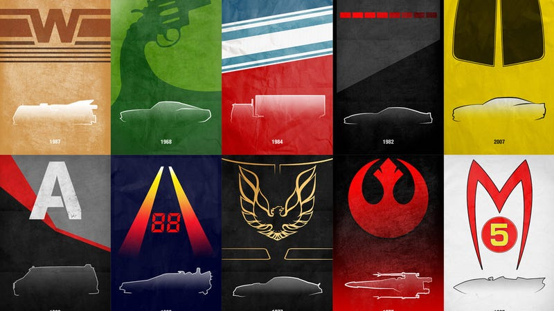 Illustration for article titled These Gorgeous, Cheap Movie Car Posters Are A 'Must Buy' For Any Car Guy