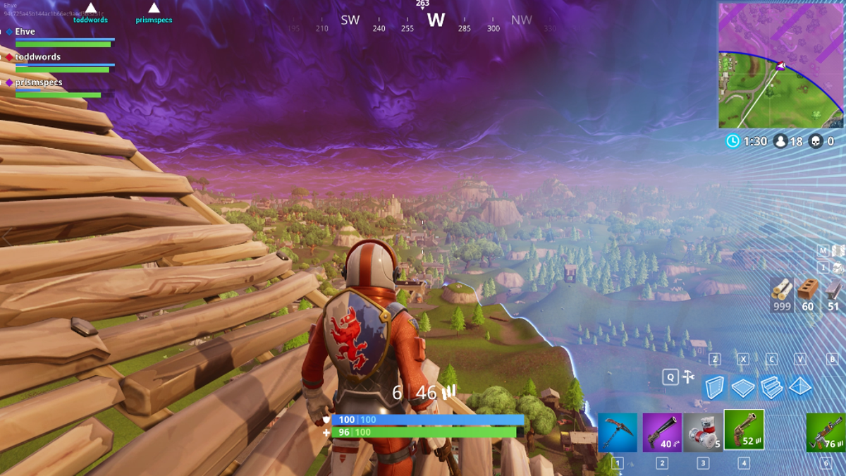 i thought fortnite battle royale s stairway to heaven would be a good idea - fortnite 999 wood
