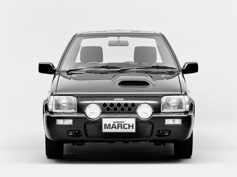 Illustration for article titled Long Lost Hot Hatches - Nissan March Super Turbo