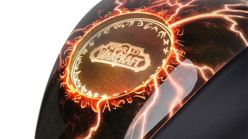 Illustration for article titled The World of Warcraft Gaming Mouse Gets a Legendary Downgrade