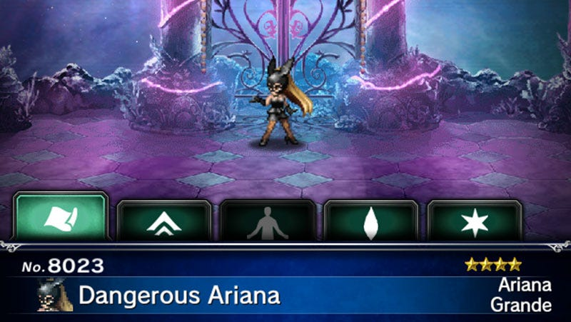 Illustration for article titled How To Get Ariana Grande in Final Fantasy Brave Exvius, Because You Can Do That Now