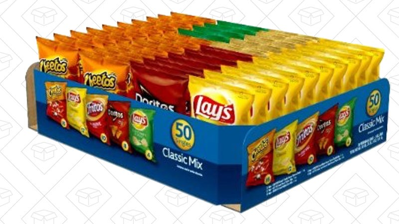 Frito-Lay Classic Mix Variety Pack, $12 with Subscribe & Save and 15% coupon