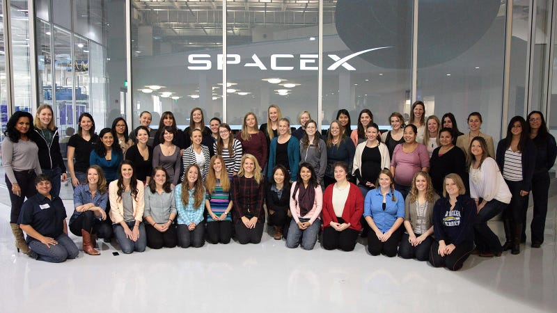 Illustration for article titled Go SpaceX Ladies, Go!